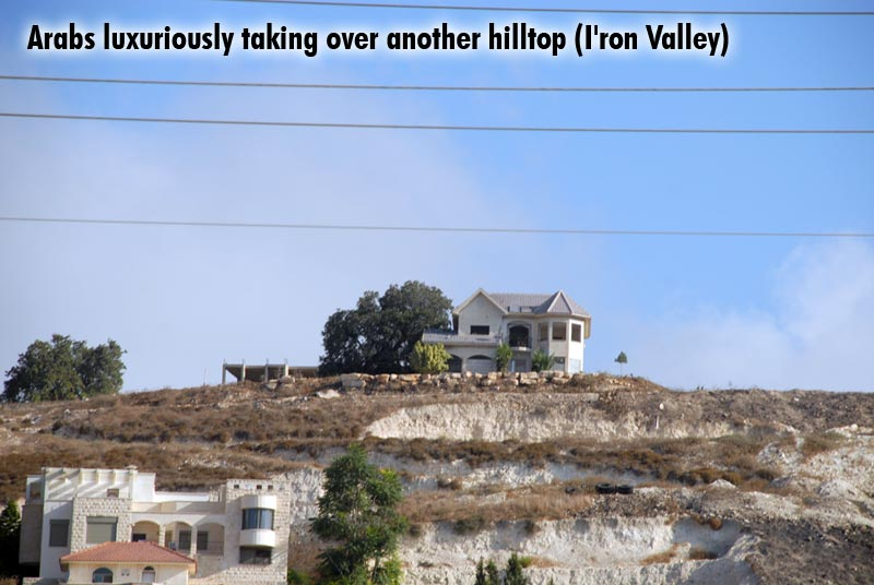 Arabs luxuriously taking over another hilltop (I\'ron Valley)