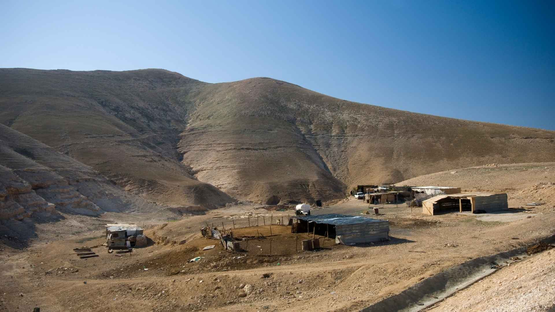 Beduin settlement in the Negev
